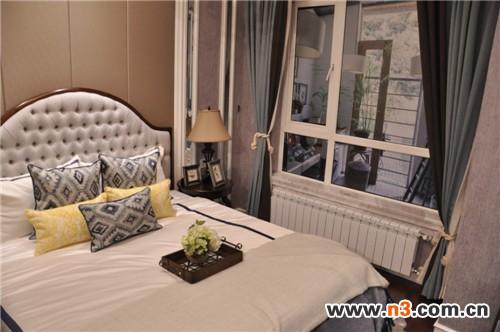 卧室暖气安装的照片